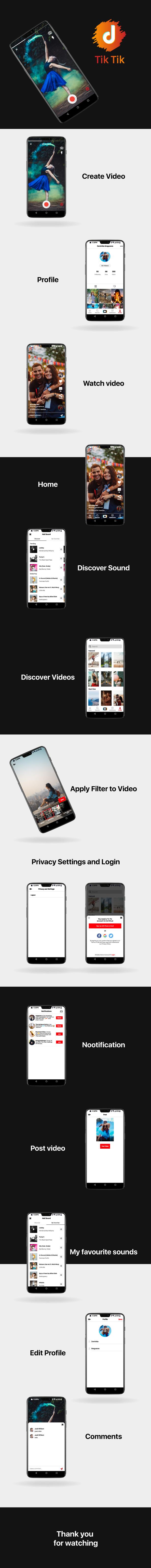 TicTic - IOS Media App zum Erstellen und Teilen von Kurzvideos - 3