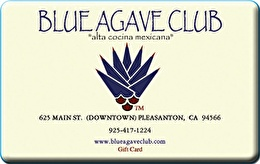 Blue Agave Club Gift Card