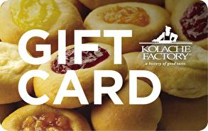 Kolache Factory Gift Card