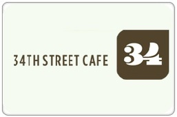 34th Street Cafe Gift Certificate
