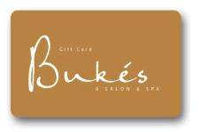 Bukes Salon Spa Gift Card