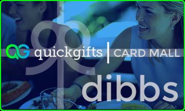 QuickGifts Card Mall dibbs Card