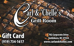 Carl and Chelle's Grill Room Gift Card