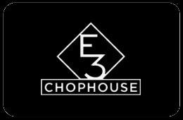 E3 Chophouse - Nashville Gift Card