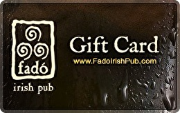 Fado Irish Pub Gift Card