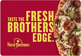 Fresh Brothers Gift Card