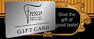 Fresco Rhode Island Gift Card