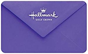 Hallmark Gold Crown Gift Card