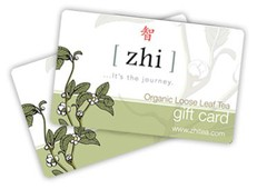 Zhi Tea Gift Certificate
