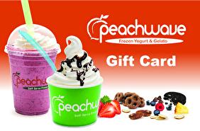 Peachwave Frozen Yogurt & Gelato Gift Card