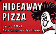 Hideaway Pizza Gift Card