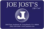Joe Jost's Gift Card