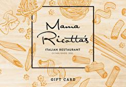 Mama Ricotta's  Gift Card