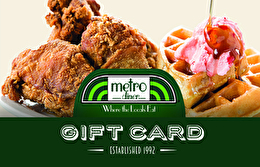 Metro Diner Gift Card