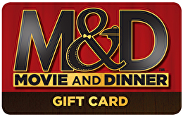 Movie and Dinner™ Gift Card