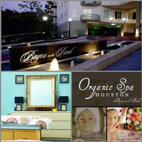 Organic Spa Houston at Bayou on the Bend