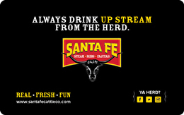 Santa Fe Cattle Co. Gift Card