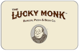 The Lucky Monk Gift Card