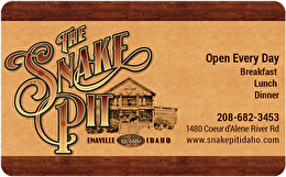 The Snake Pit Gift Card