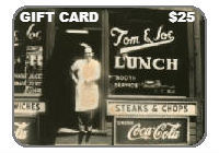 Tom and Joe's Diner Gift Card