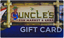 Uncle 39 s fish market grill gift cards for Uncle s fish market and grill