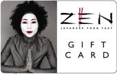 Zen Gift Card