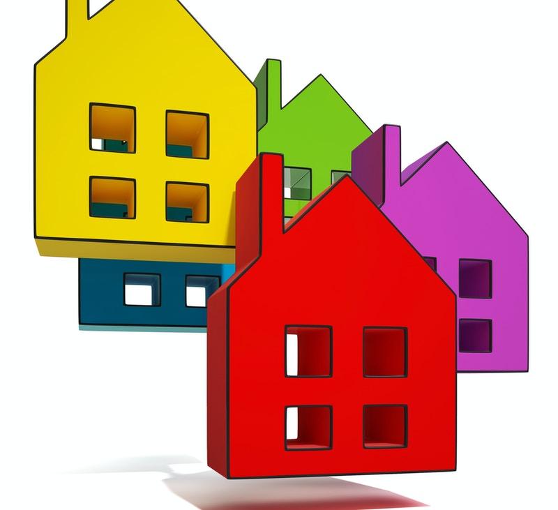 Single family home community
