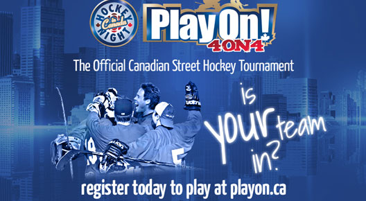 Play On Street Hockey Tournament – Halifax Mooseheads