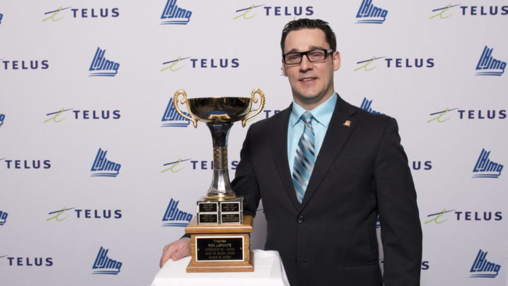 Veilleux was named CHL Coach of the Year in 2013-14