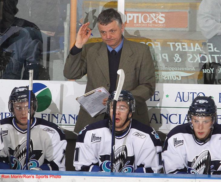 Clément Jodoin, entraîneur-chef