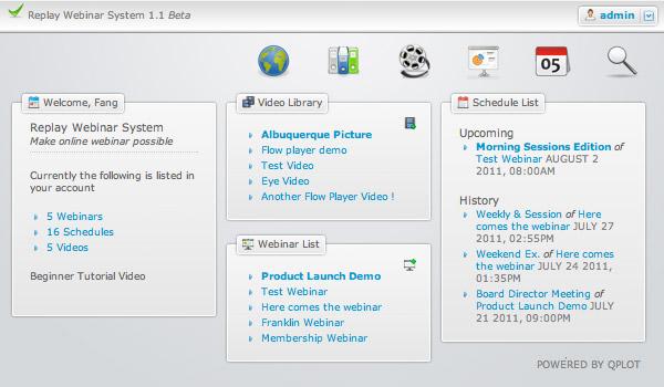 Replay Webinar System