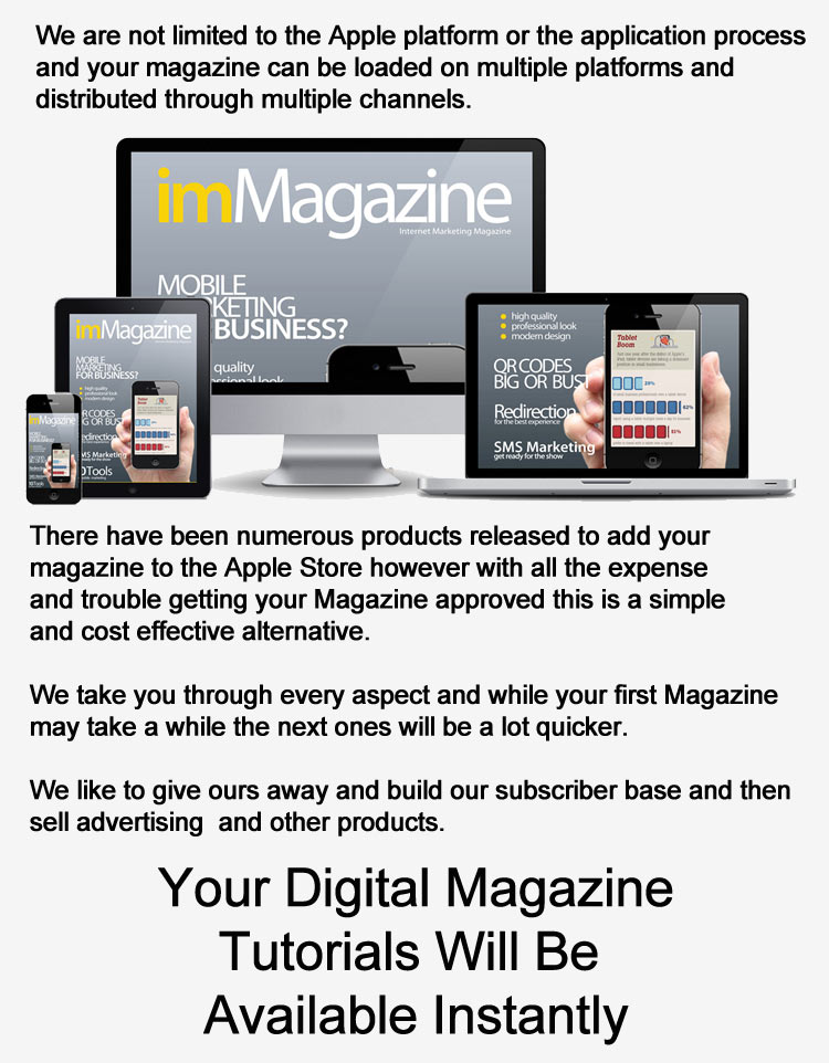 create tablet magazine