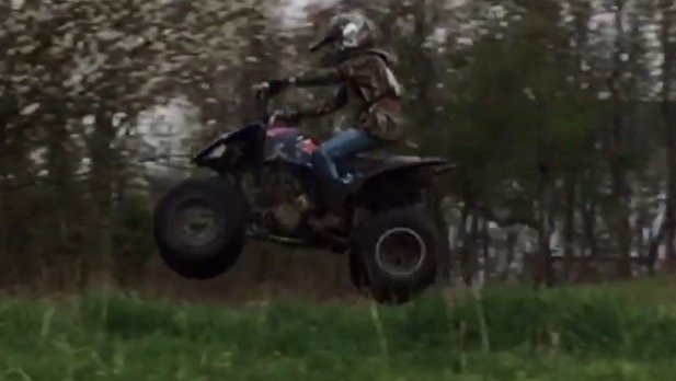 My 2008 Yamaha Raptor 250