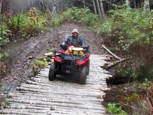 Wooded ATV Riding