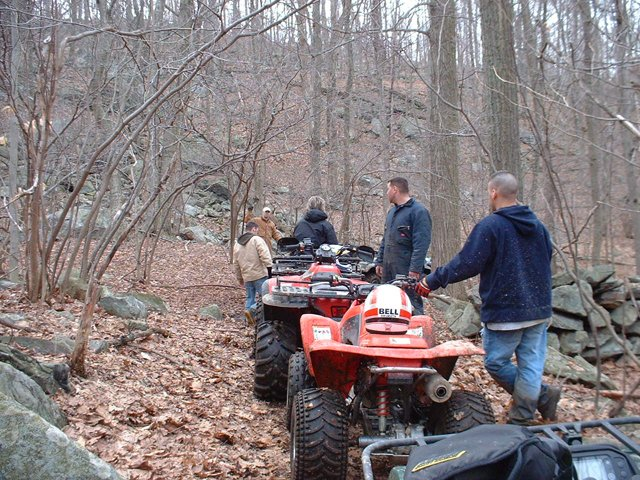 Our group of ATV Riders