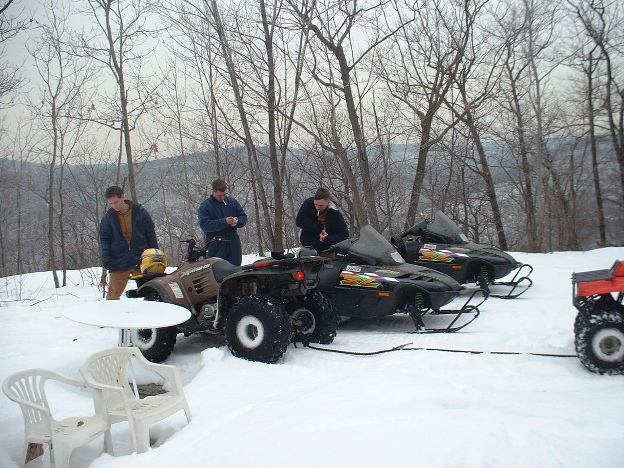 Sleds and ATVs can be friends!