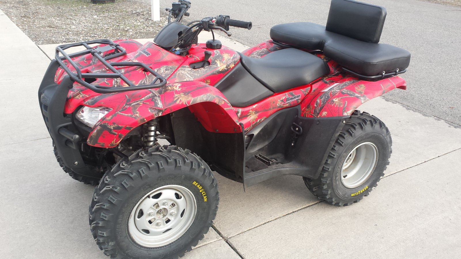Honda Rancher ATV Skinned