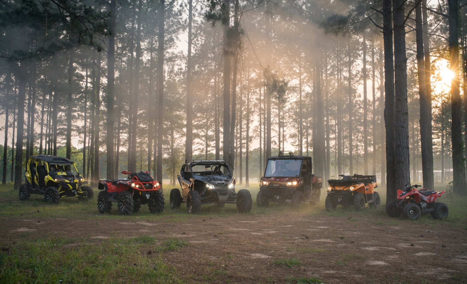 2018 Can-Am ATV and SSV Family