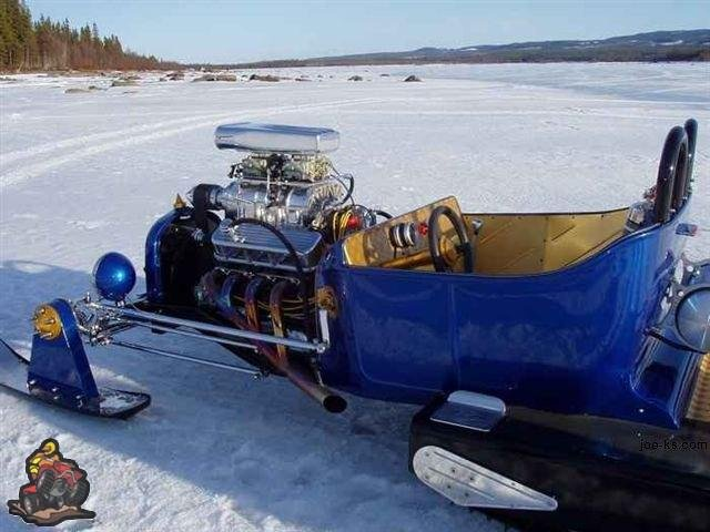 Fastest sled on earth