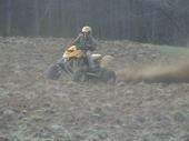 plowing the field..lol