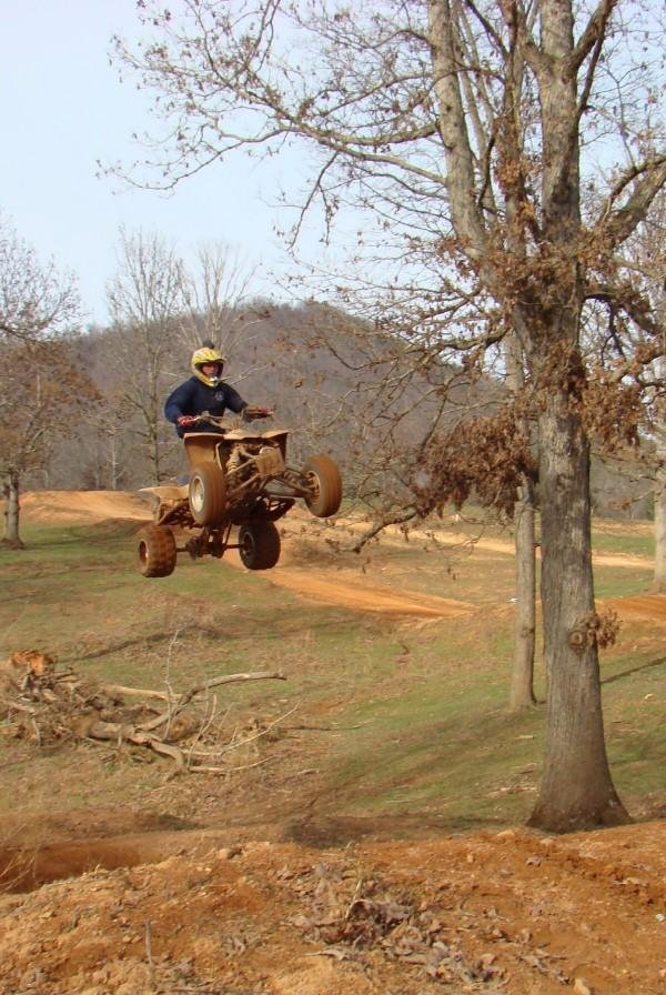 60' long and 30' lift triple step up.. second quad to ever clear it!!