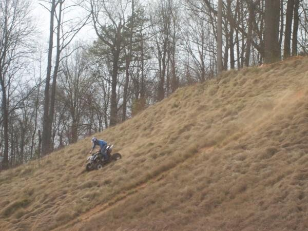 riding the hills