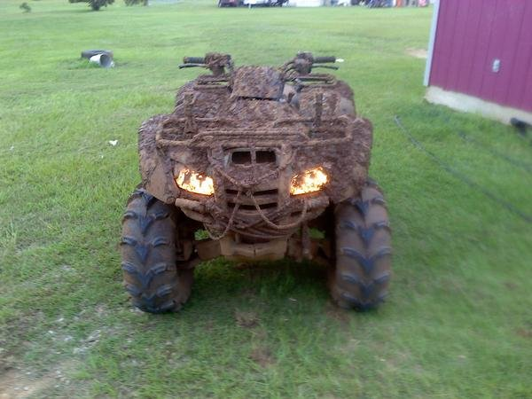 front of ma 4wheeler