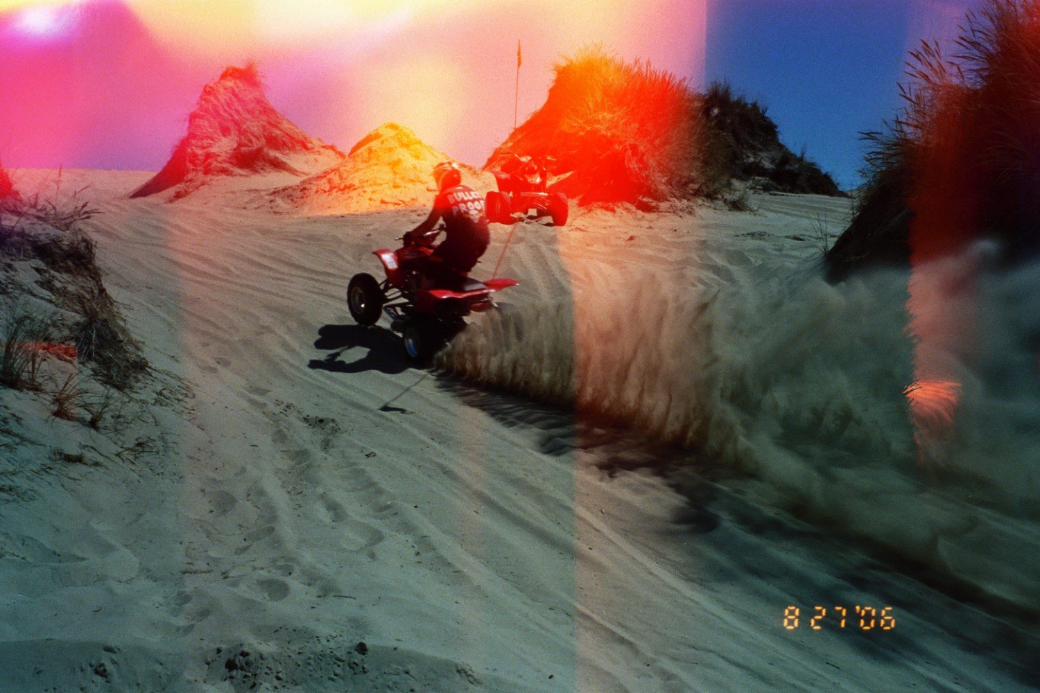 crappy pic of me roostin' up the hill