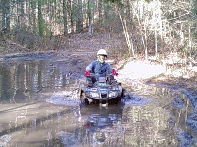 me in a big ass mudhole