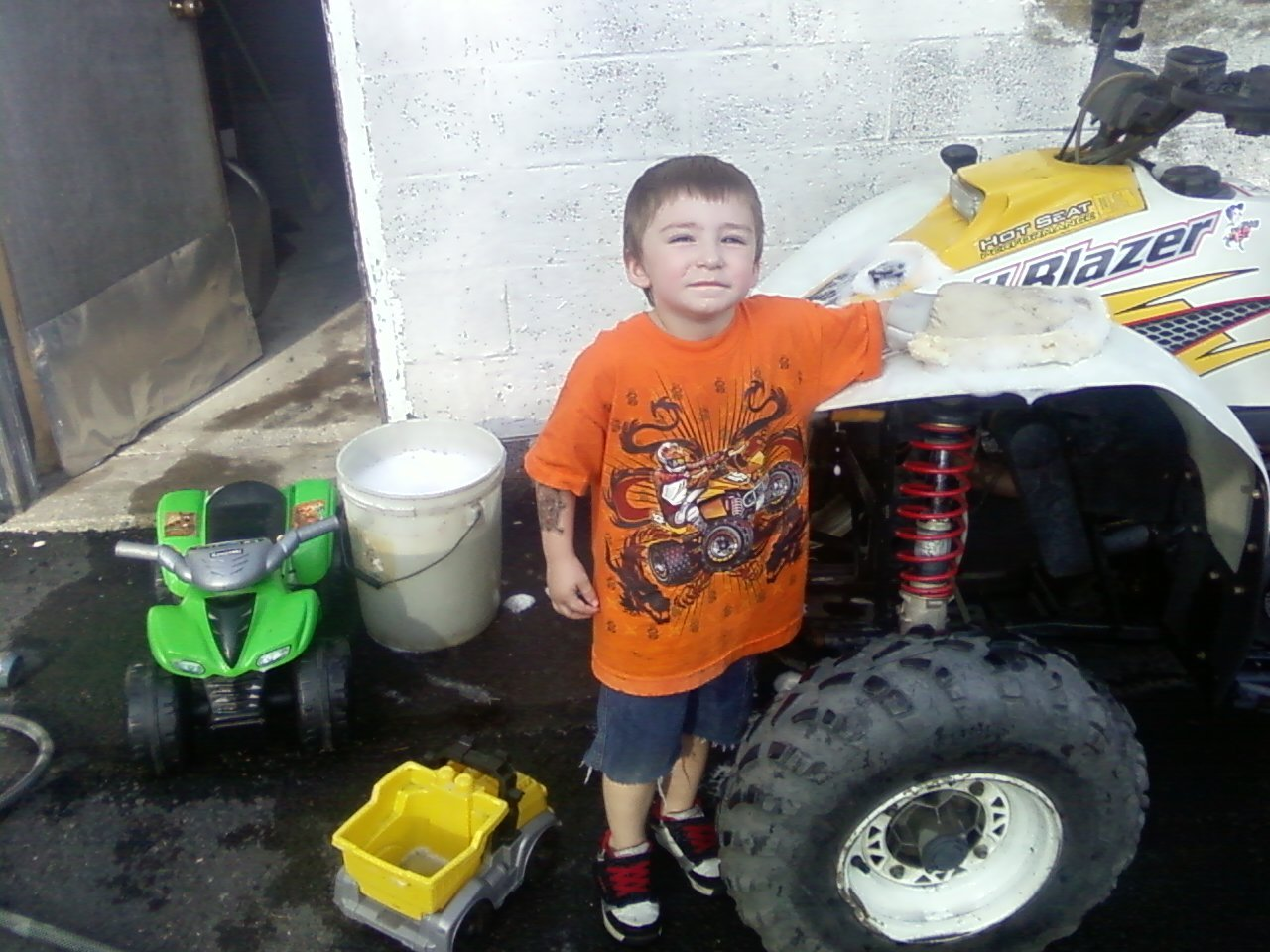 Gage washing quads