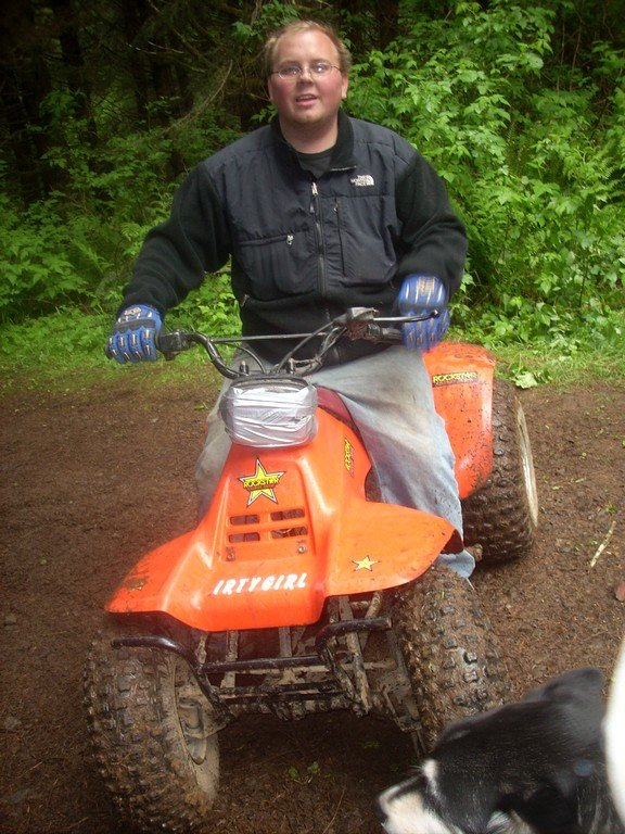 me on the little quad