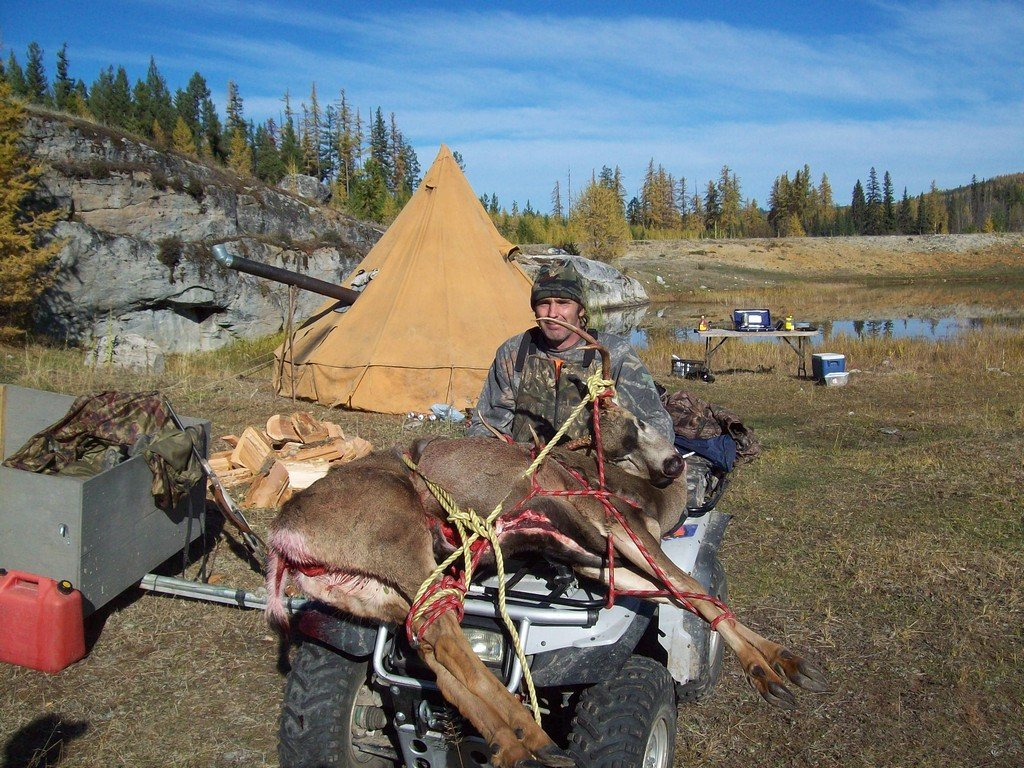 Week long elk, moose and deer hunt.