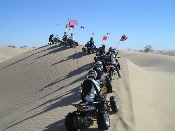 Glamis Ridge Group Ride