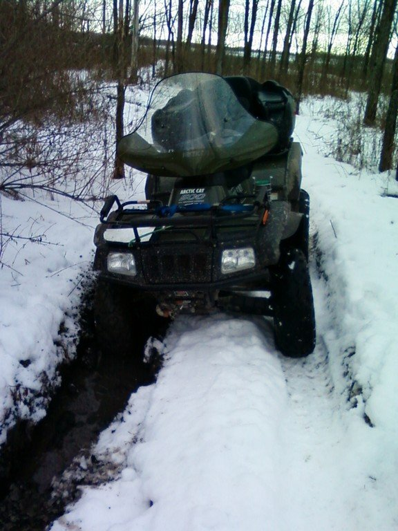 Riding OFATV Trails January 2012
